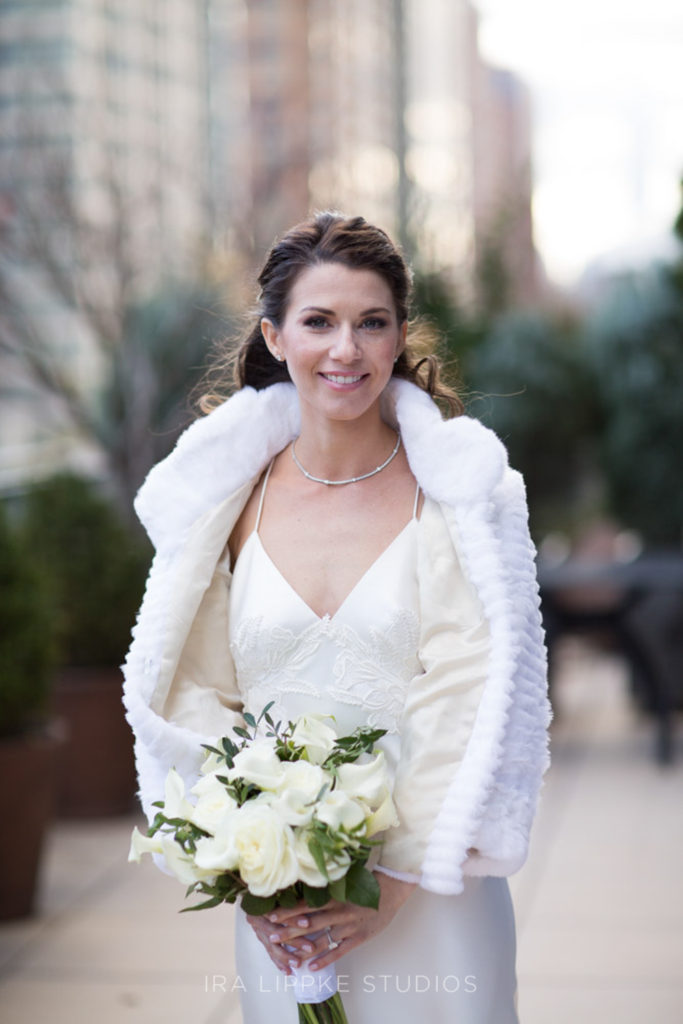 Wedding makeup by Anabelle LaGuardia at the Eventi Hotel in NYC.