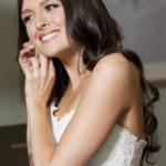 wedding makeup by Anabelle LaGuardia at The Rockleigh Country Club