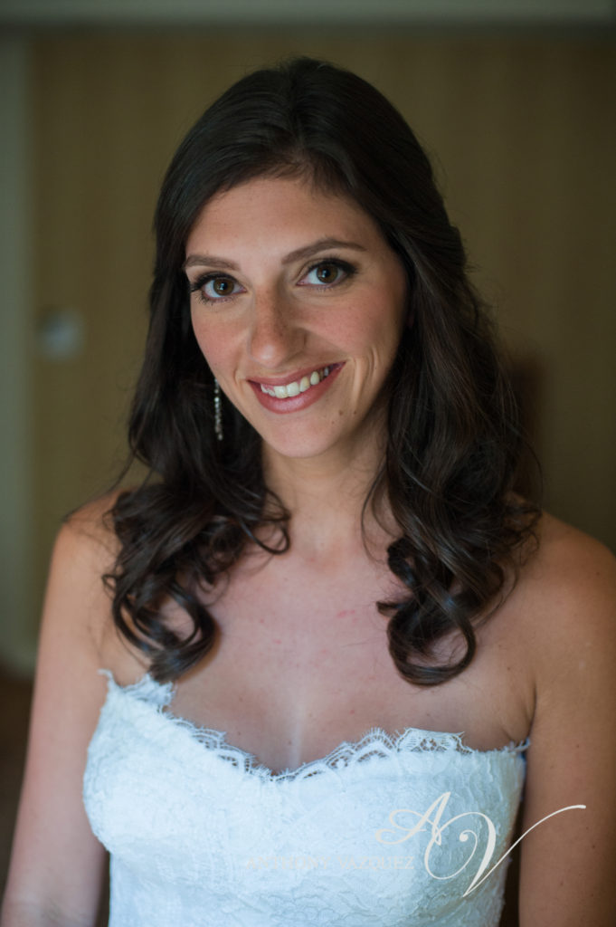 Wedding makeup by Anabelle LaGuardia at the Essex House, NYC