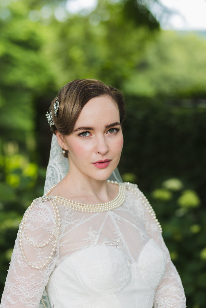 Wedding Makeup by Anabelle LaGuardia at Wave Hille