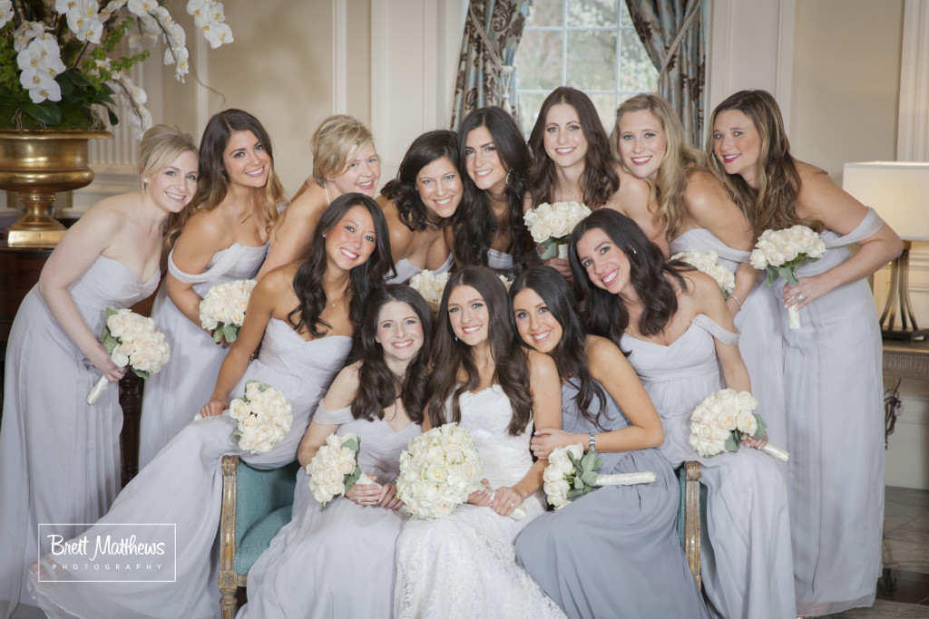 new jersey wedding bridal party makeup by anabelle laguardia