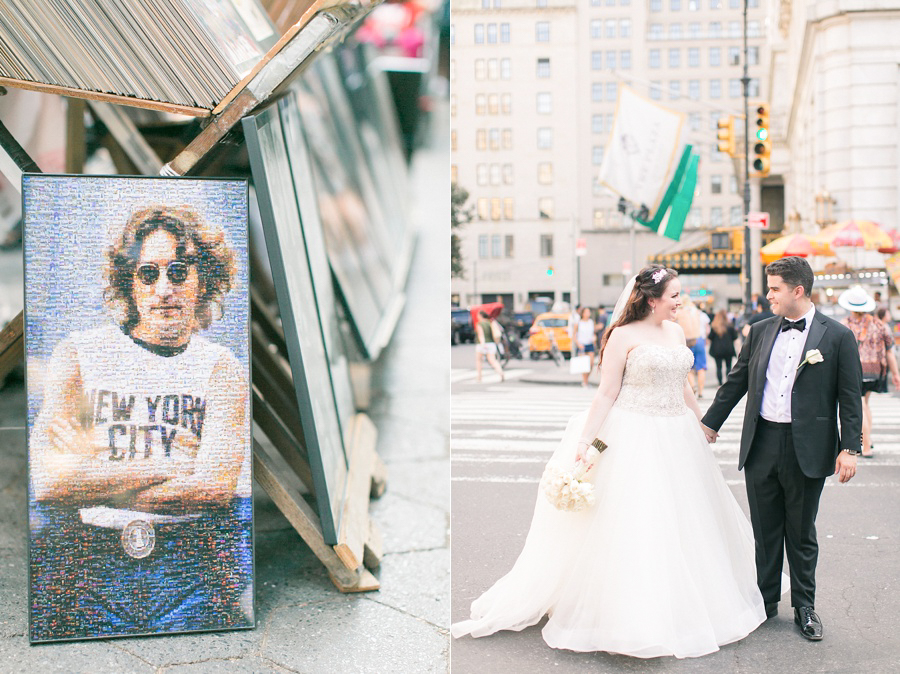 nyc wedding photo shoot in central park