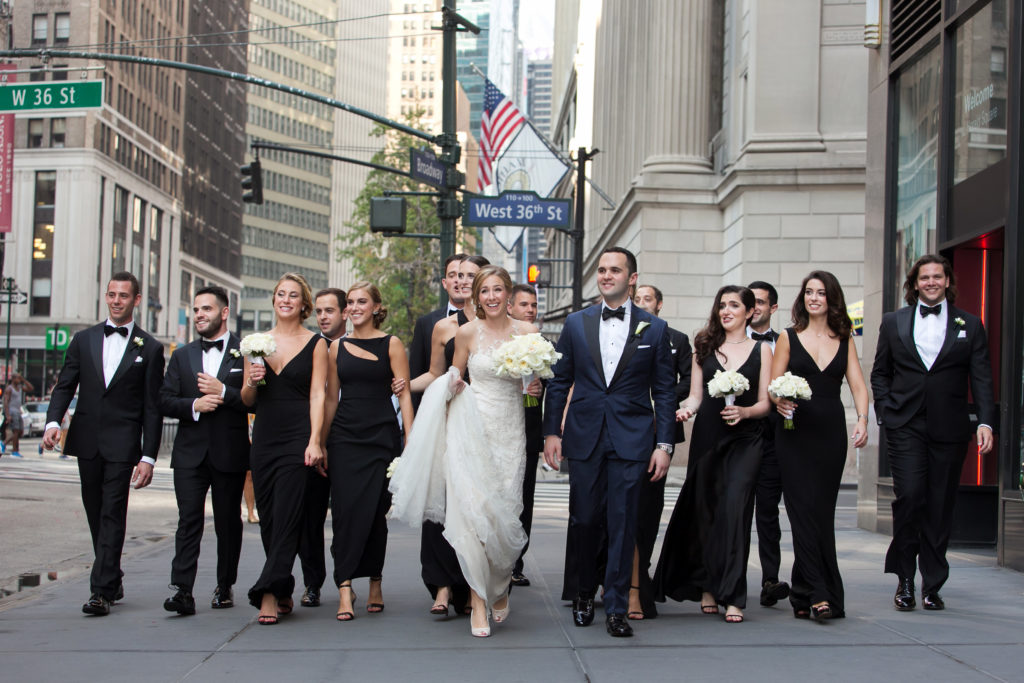 gotham hall wedding party