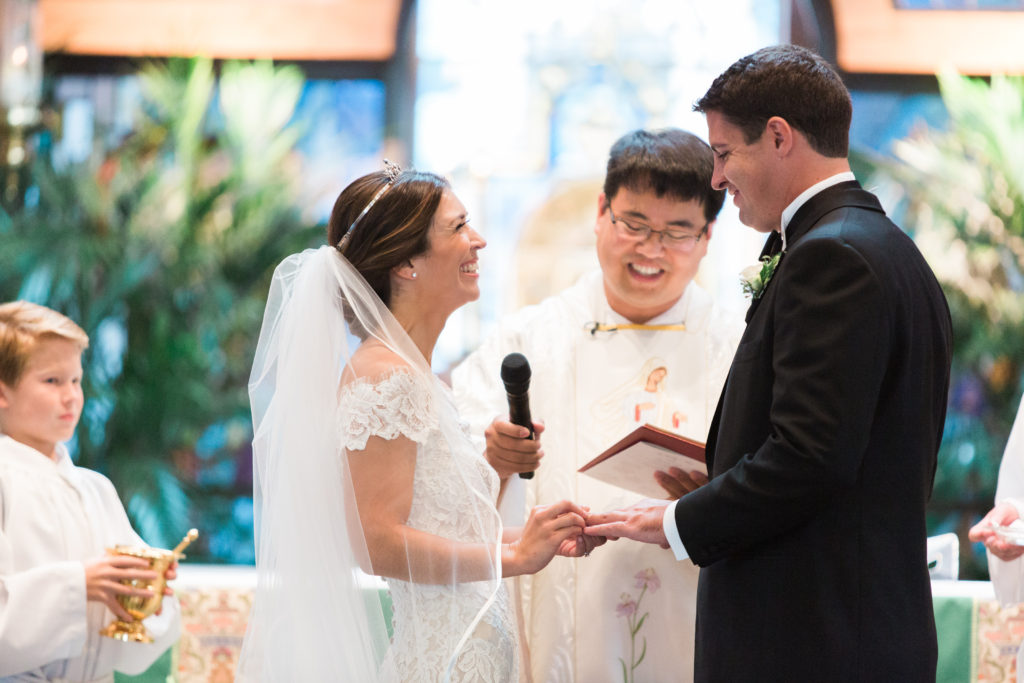 Saint Aloysius Church wedding